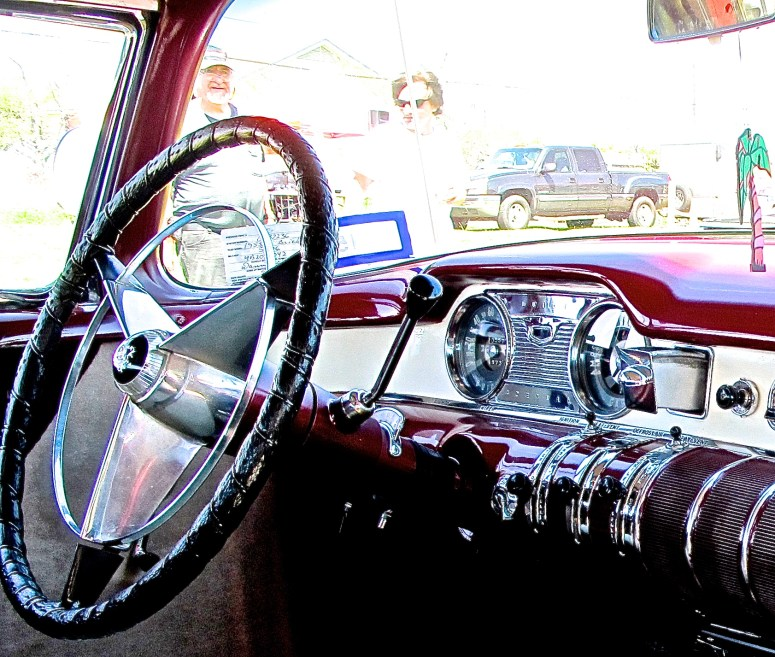 1955 Buick Special in Austin TX interior