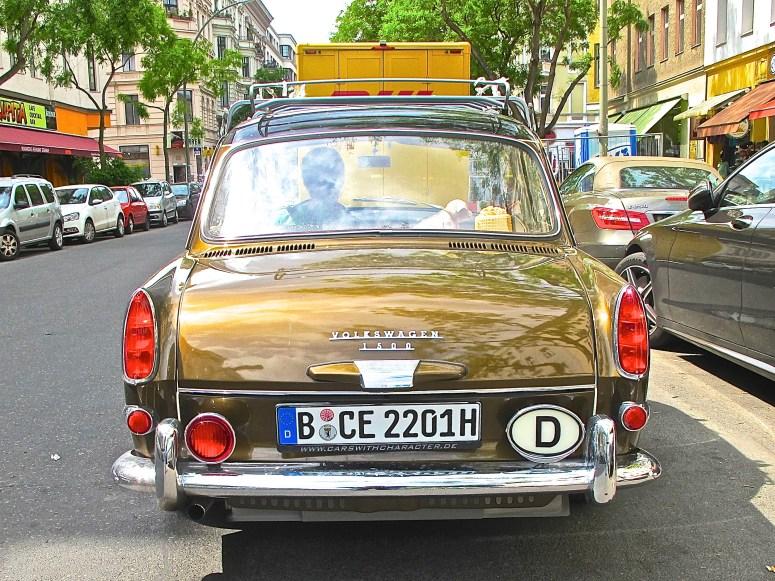 Volkswagen 1500 Notchback Type 3 Sedan Berlin Germany rear view
