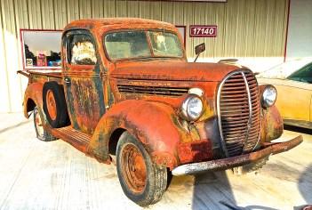 1938:9 Ford Pickup, ATXcarPICS.com