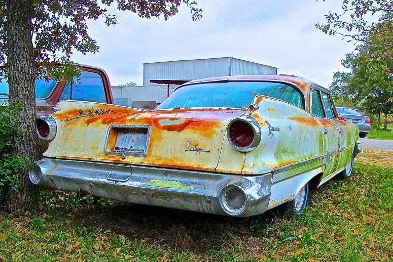 1960 Dodge Sedan in Field, Austin TX ATXcarpics.com rear view