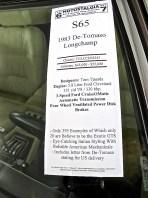 1983 De Tomaso Longchamp atxcarpics.com