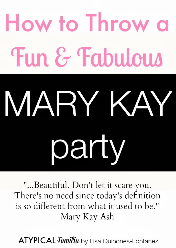 How to Throw a Mary Kay Party – Mary Kay Party Invitation