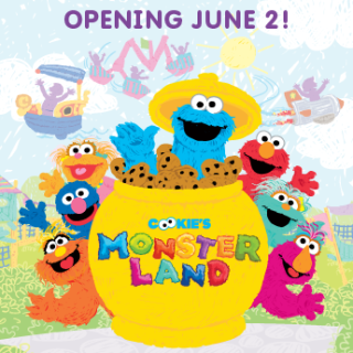 The Grand Opening of Cookie's Monster Land {June 2014 #SesamePlace Events}
