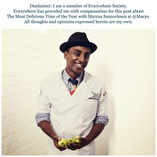 It's The Most Delicious Time of the Year with Marcus Samuelsson @Macys @CulinaryCouncil {#spon}