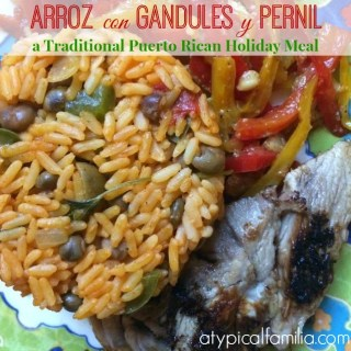 Pernil & Arroz con Gandules: A Traditional Puerto Rican Christmas Meal