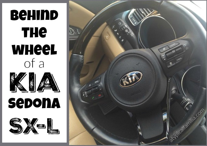 Driving the Kia Sedona SX-L