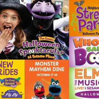 Halloween at Sesame Place: The Count's Halloween Spooktacular