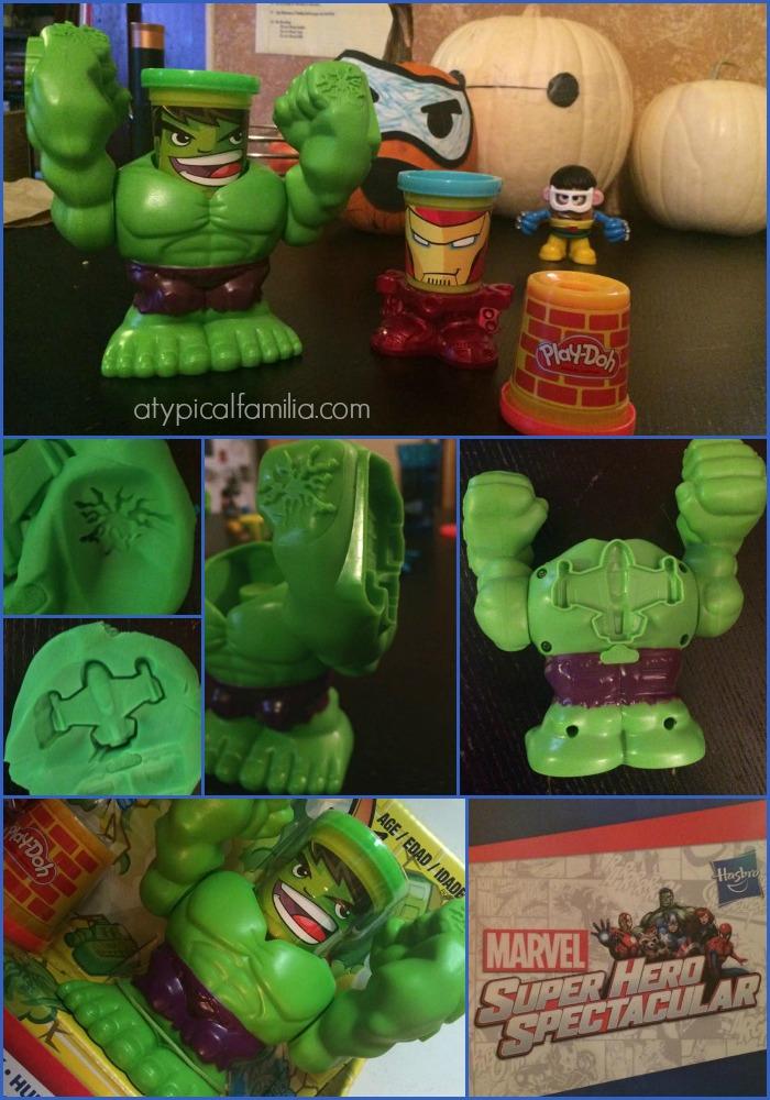 Marvel Super Hero Spectacular Smashing Hulk Play Doh