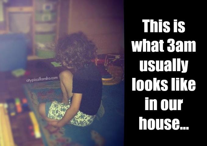 My Kid Doesn't Sleep at Night Atypical Familia - Autism & Sleep