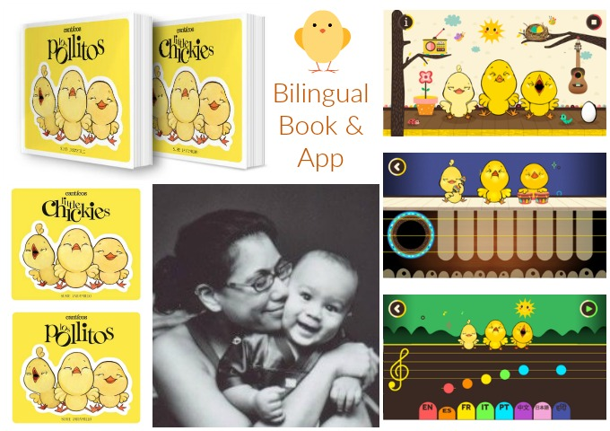 Los Pollitos Little Chickies Board Book App Review