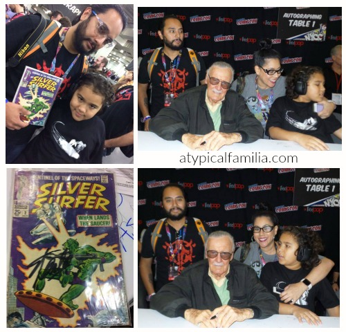 Meeting Stan Lee at NY Comic Con 2016