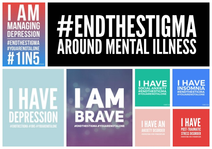 End the Stigma Badges
