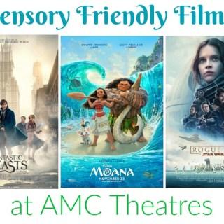 Upcoming Sensory Friendly Films: Nov & Dec 2016
