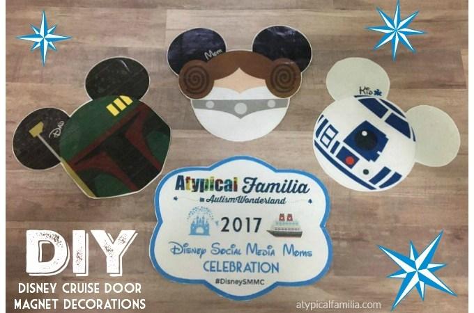 Disney Cruise Door Magnet Decorations DIY