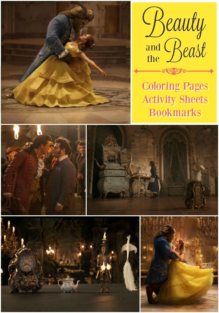 Beauty And The Beast Free Printables Something There Clip