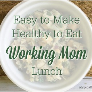My Go-to Working Mom Lunch: Chick Pea Tuna Salad
