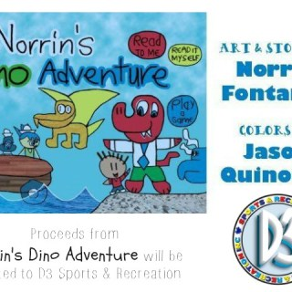 Norrin's Dino Adventure: Art & Story by Norrin