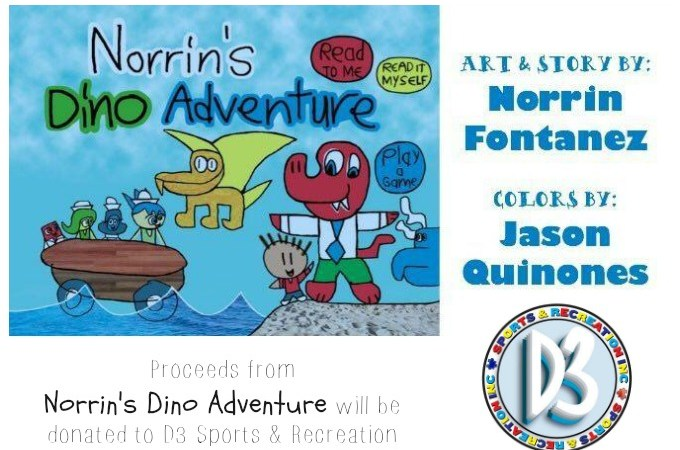 Norrin's Dino Adventure for D3 Sports and REc