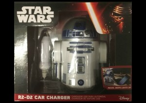 R2 D2 Car Charger Star Wars May the 4th Day BroMail Gift Exchange via Atypical Familia