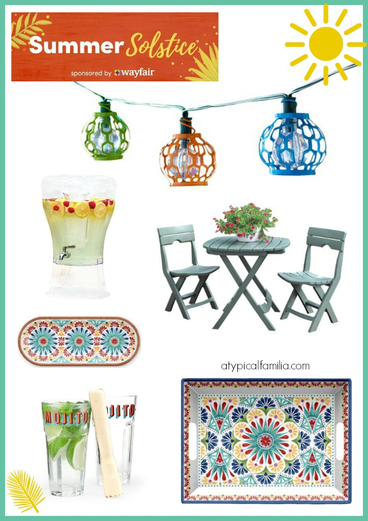 Summer Solstice Wishlist Picks from Wayfair via Atypical Familia by Lisa Quinones-Fontanez