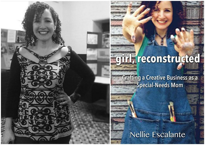 Special Needs Mom Crafting a Creative a Business Nellie Escalante book review via atypical familia by lisa quinones fontanez