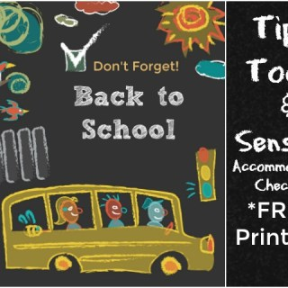 Back to School Tips to Help Your Child with Special Needs