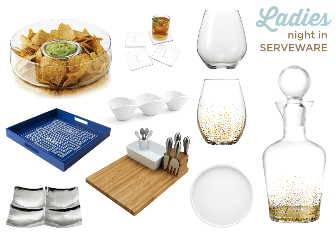 Ladies Night In Serveware Wayfair via Atypical Familia Lisa Quinones Fontanez