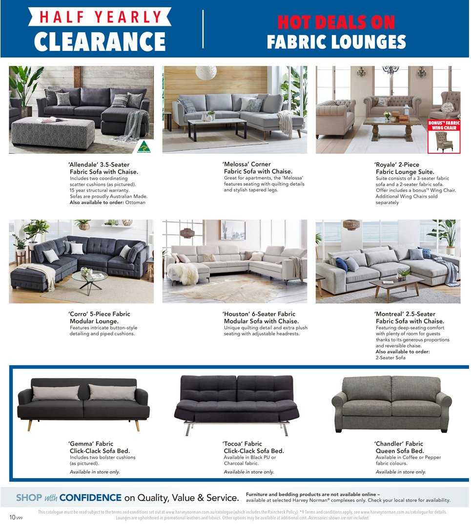 Lounge Suites For Sale Melbourne Harvey Norman Catalogue And Weekly Specials 1 1 2019 20 1 2019