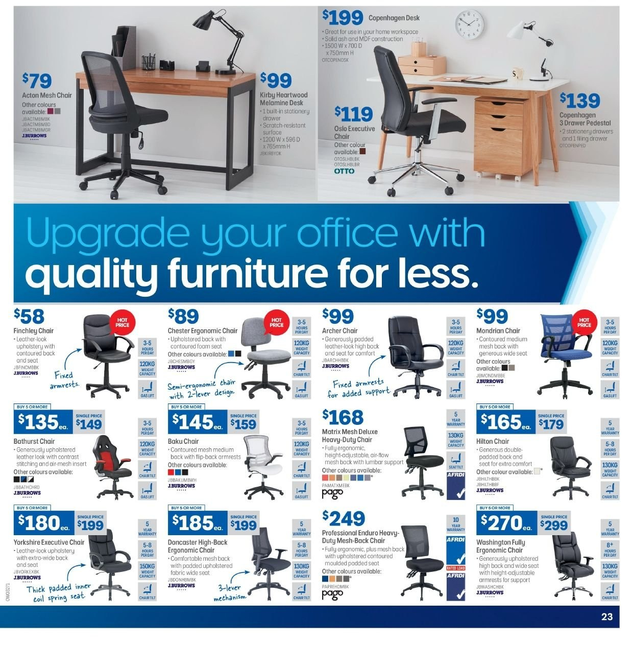 Officeworks Desks For Sale Officeworks Catalogue And Weekly Specials 28 2 2019 20 3 2019