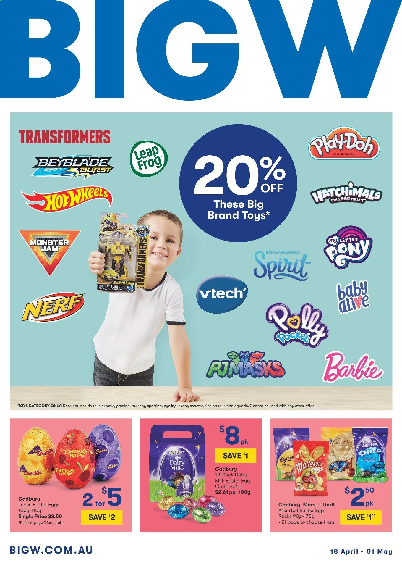 Big W Toys Catalogue Current Big W Catalogue 18 4 2019 1 5 2019 Au Catalogues