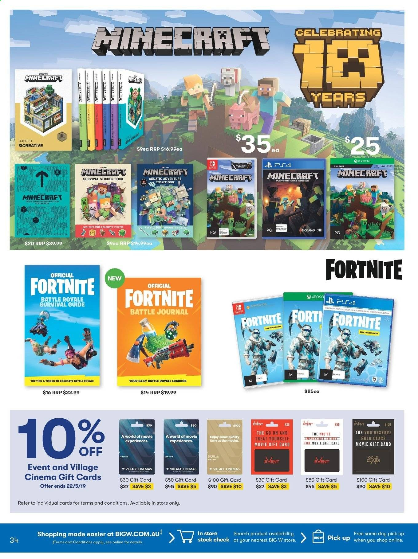 Big W Stickers Big W Catalogue And Weekly Specials 16 5 2019 29 5 2019 Au