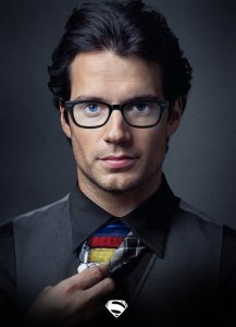 Man of Steel w/t glasses