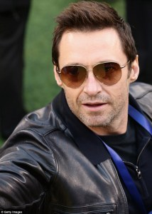 Hugh Jackman Aviator Sunglasses