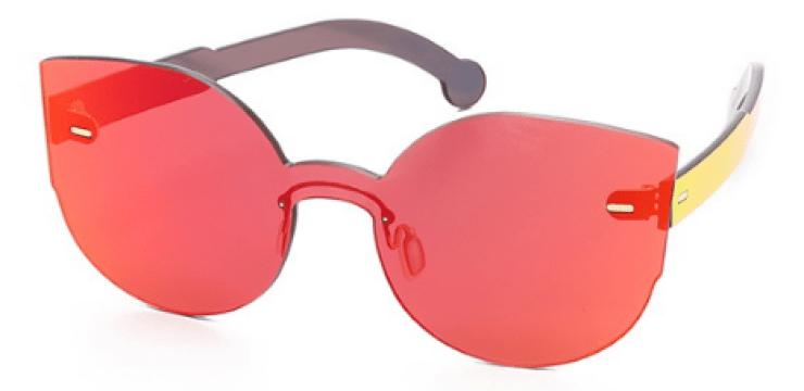 Retrosuperfuture Tuttolente Lucia Red Sunglasses