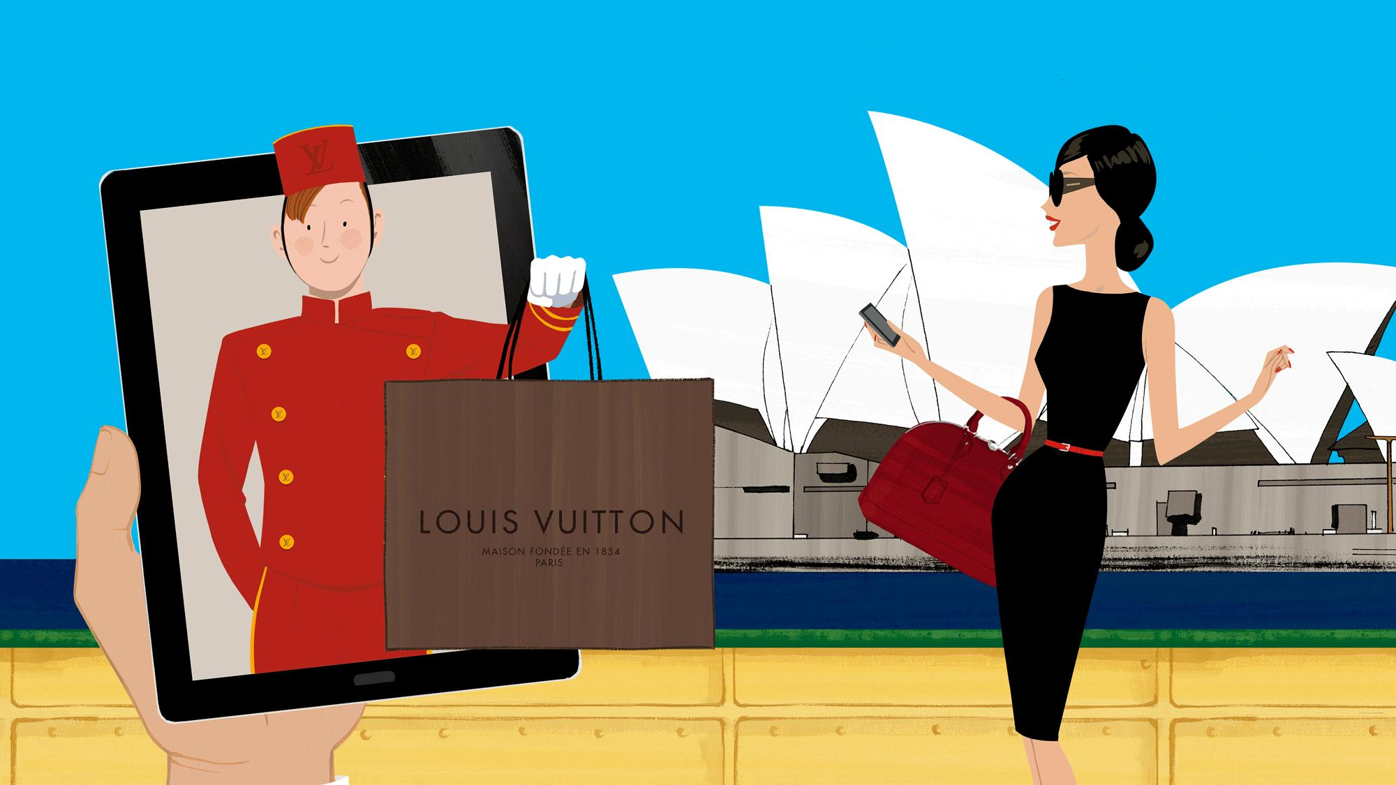 Shopping Com Au Louis Vuitton Travel Online Shopping Launches In Australia