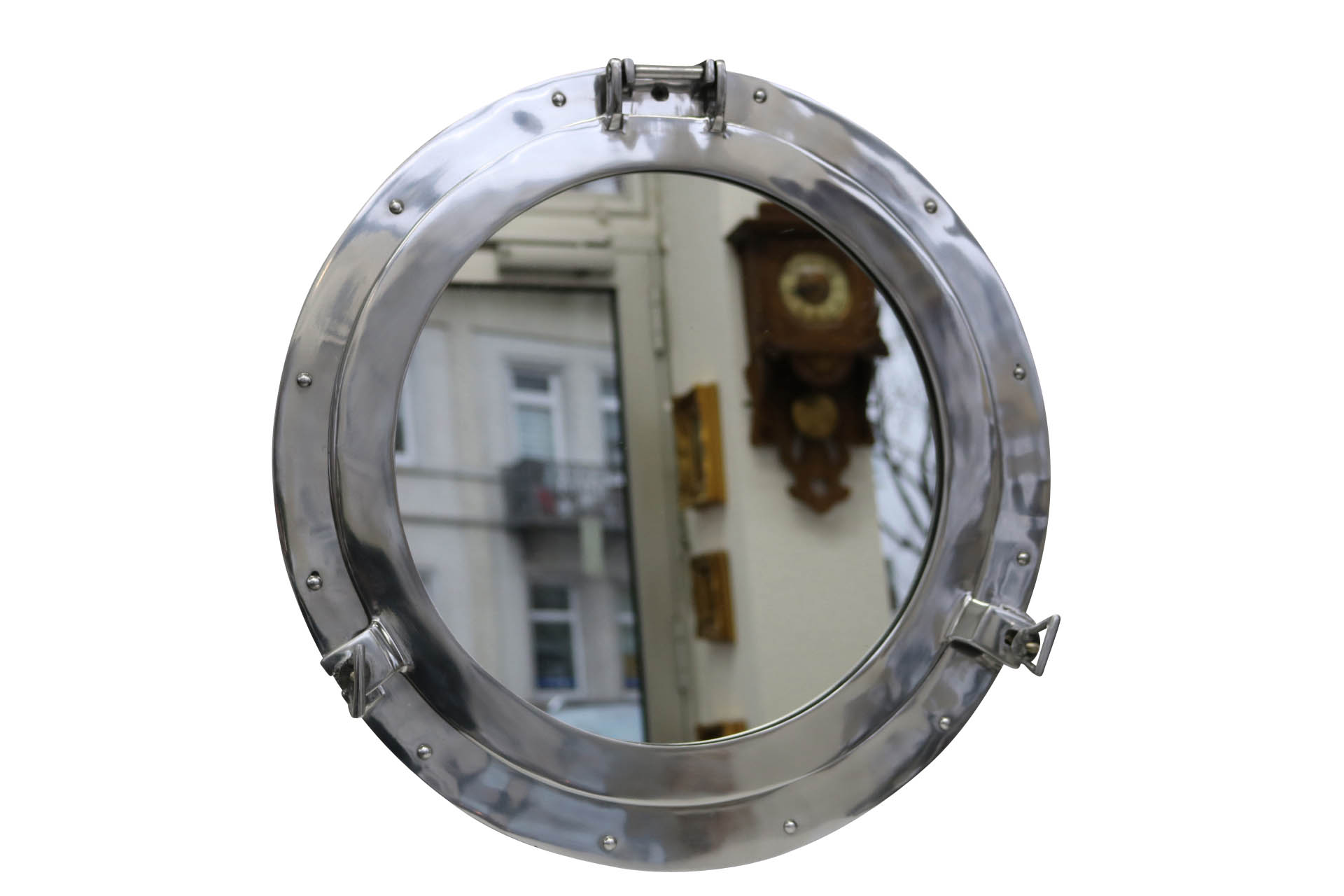 Spiegel Bullauge Porthole With Mirror Open Boat Ship Maritime Decorations 52cm