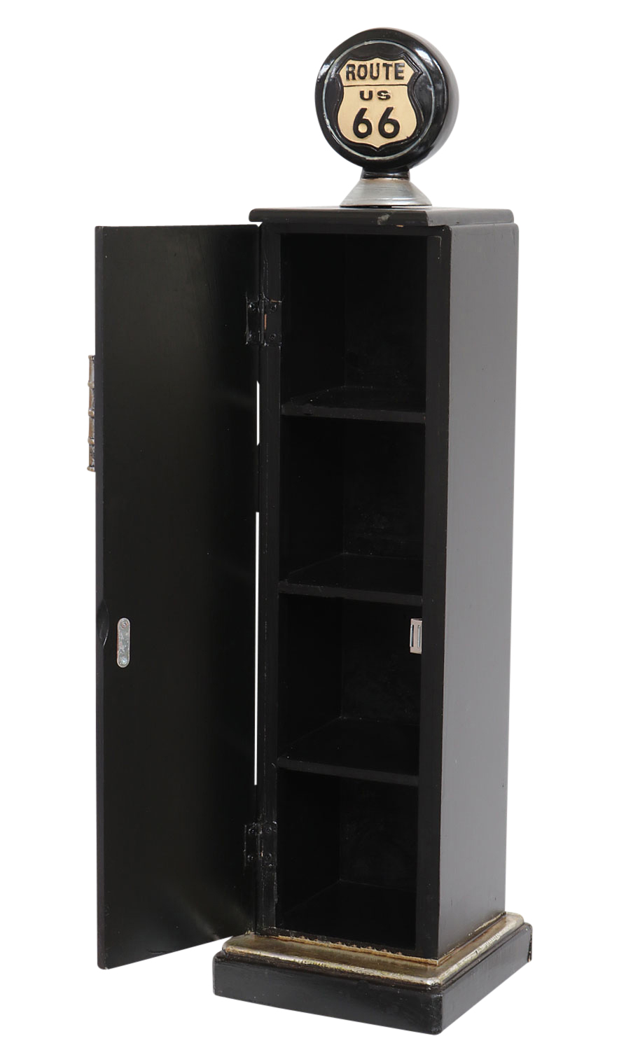 Cd Ständer Dispenser Tank Column Shelf 87cm Cd Cabinet Rack Cd Rack Route 66