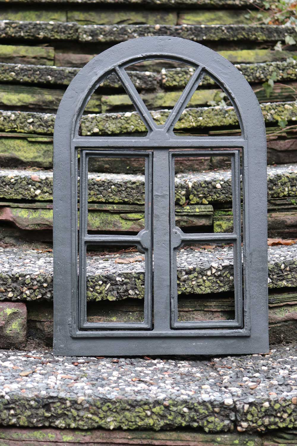 Holzgeländer Grau Window Frame To Open Gray Iron Antique Style 39 X 59cm