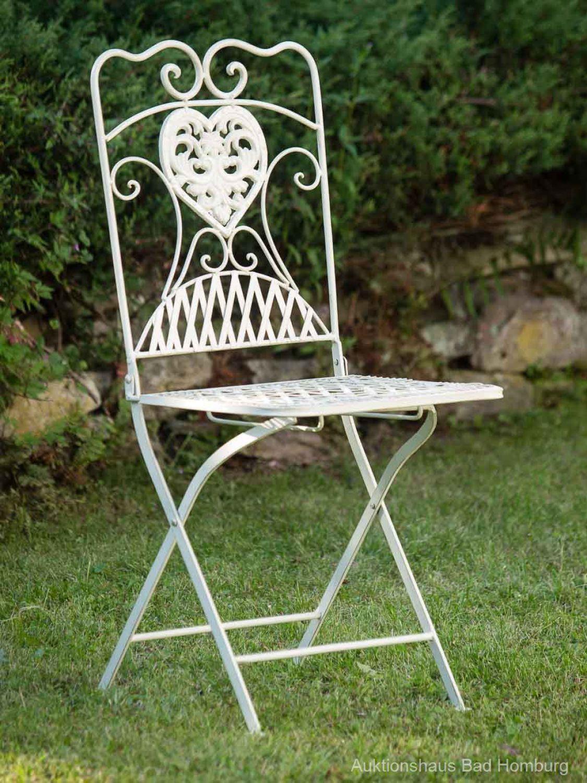 Salon De Jardin Romantique Blanc | Banc Jardin