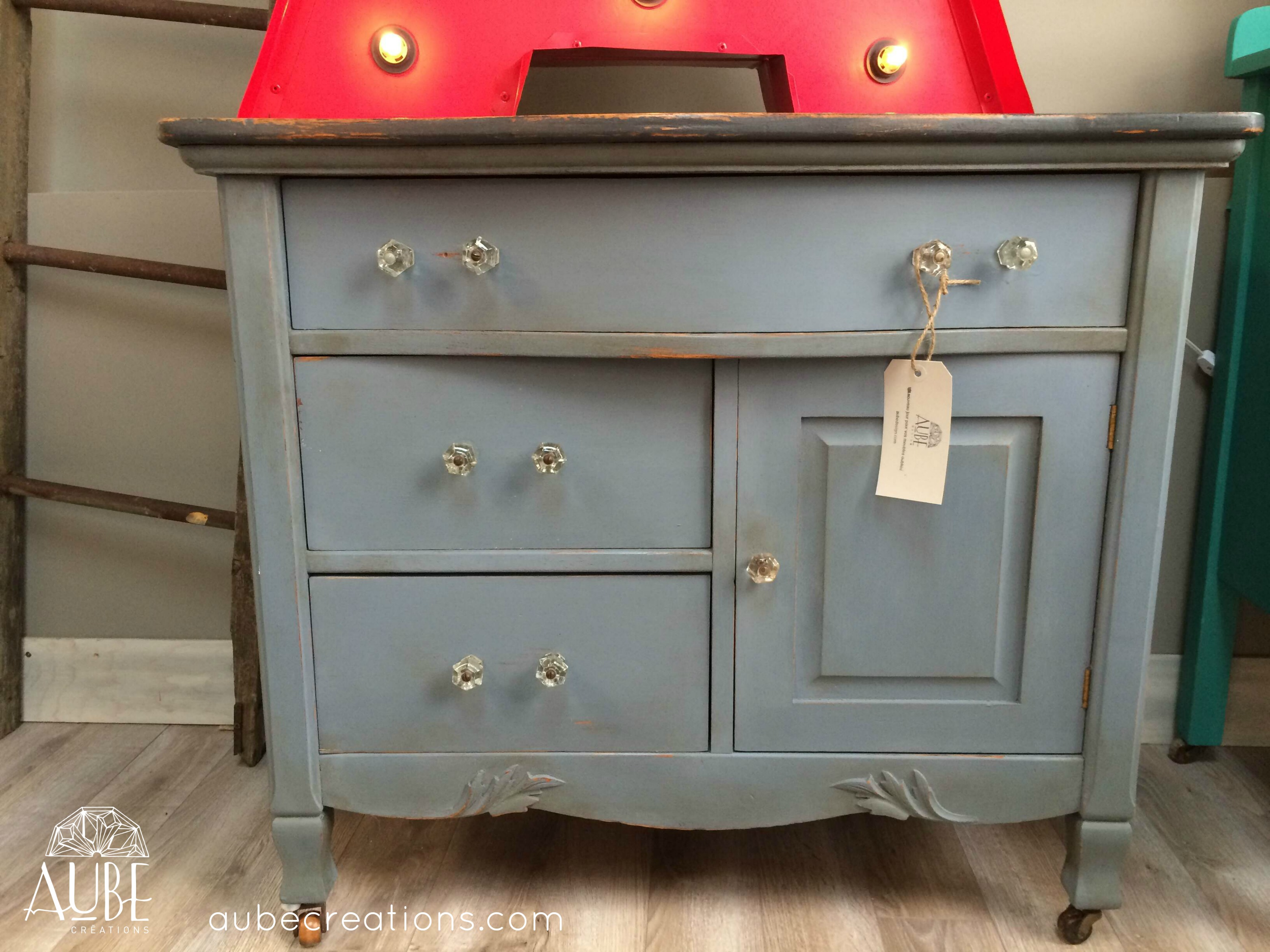 Sabler Un Meuble Chalk Paint Annie Sloan Blogue Créations Aube Design