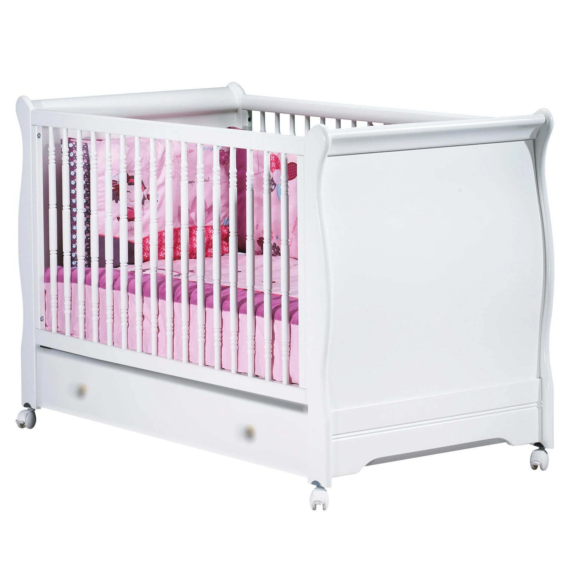 Lit Sauton Elodie Little Big Bed 70 X 140 Blanc70x140