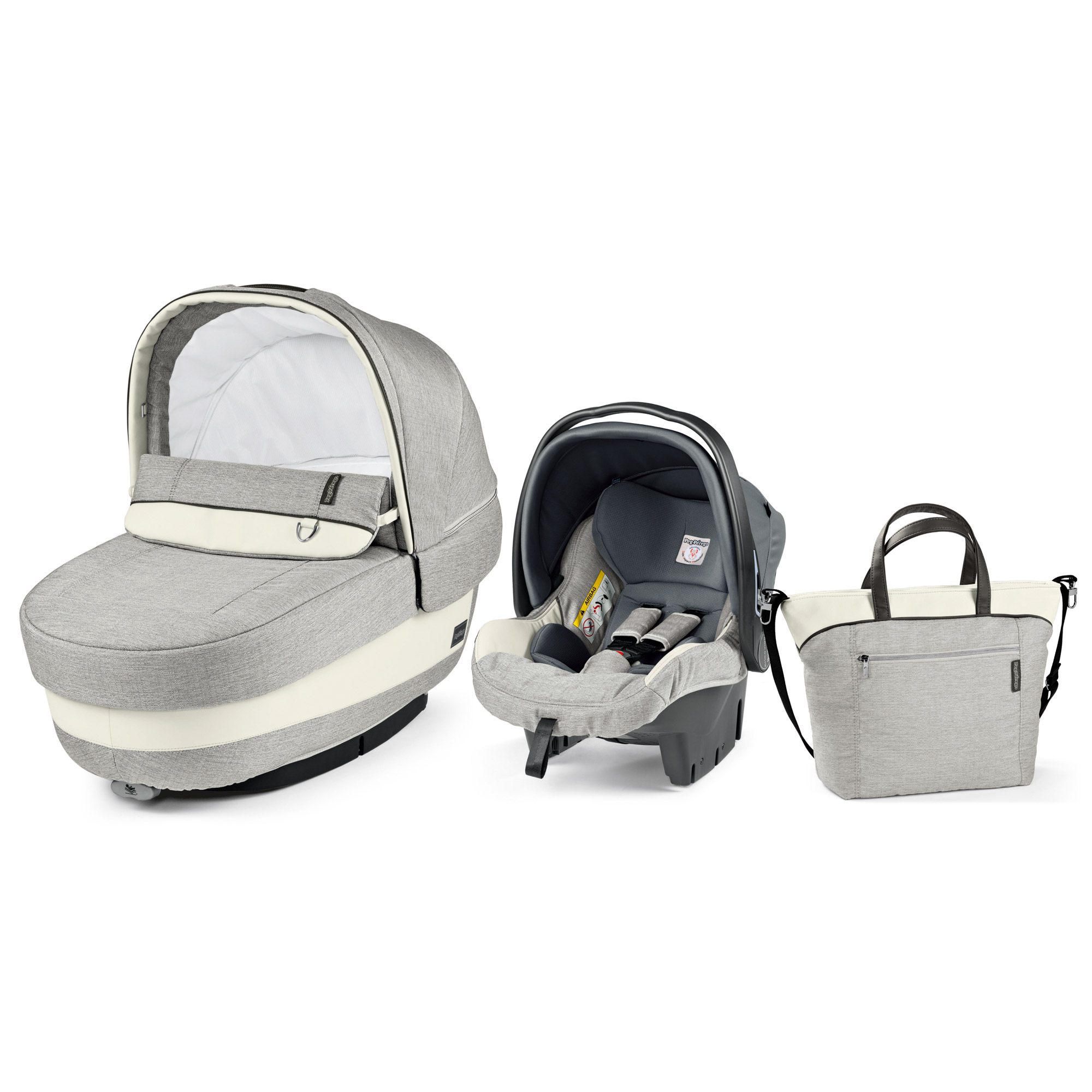 Poussette Peg Perego Trio Cross Set Modular Elite Luxe Opal