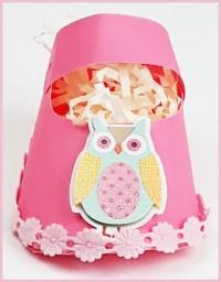Owl girl baby shower favors - Au Bouquet