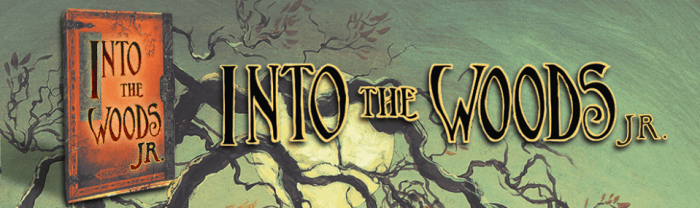 into the woods jr banner