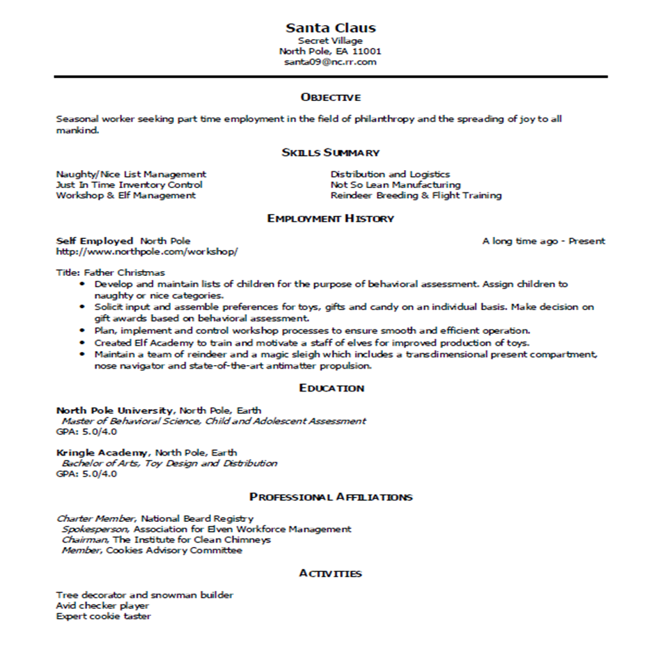 Employment Wikipedia Resume 171; My Career Advisor My Career Advisor