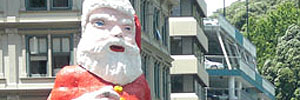 I interviewed the new-look Whitcoulls Santa...