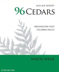 Auclair Winery 96 Cedars White
