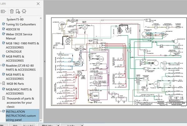 MGB Workshop Manual Work shop manual Ver2 service book parts wiring