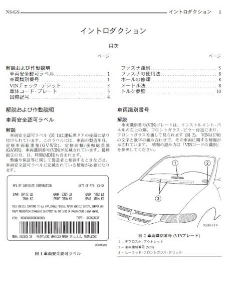 Chrysler Voyager service manual wiring diagram Japanese  Real Yahoo