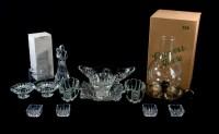 Princess House Crystal Tableware Wedding Cake Topper